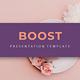 Boost - Creative Google Slides Template - GraphicRiver Item for Sale