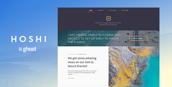 Monday Sunrise Blogging_21 >> Simple Ghost Blogs And Ghost Themes From Themeforest