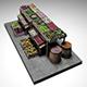 Vegetable Stand Market  2 - 3DOcean Item for Sale