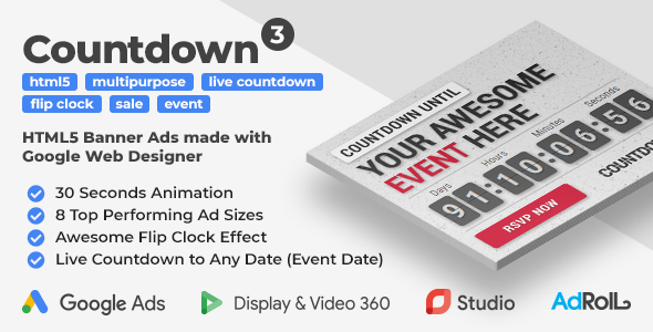 Countdown Clock Plugins, Code & Scripts from CodeCanyon