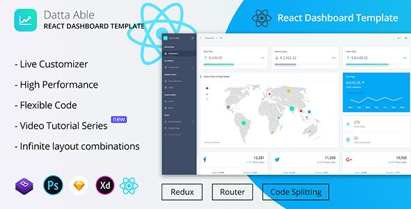 Datta Able React Redux Admin Template