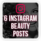 Instagram Beauty Posts - GraphicRiver Item for Sale