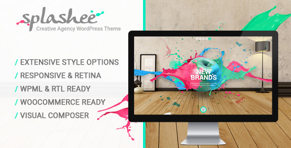Splashee – Creative Agency WordPress Theme