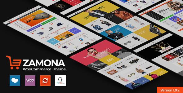 Zamona - Responsive WooCommerce WordPress Theme