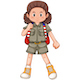 Girl Scout - GraphicRiver Item for Sale