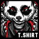 Killer Eyes T-Shirt Design - GraphicRiver Item for Sale