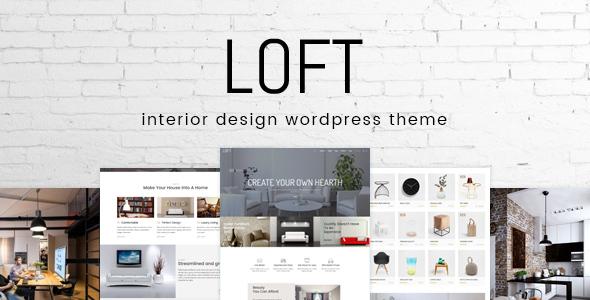 Loft - Interior Design WordPress Theme
