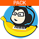 Happy Upbeat Pack