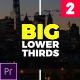 Big Lower Thirds & Titles 2 // MOGRT - VideoHive Item for Sale