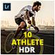 10 Athlete HDR Lightroom & Camera RAW Presets - GraphicRiver Item for Sale