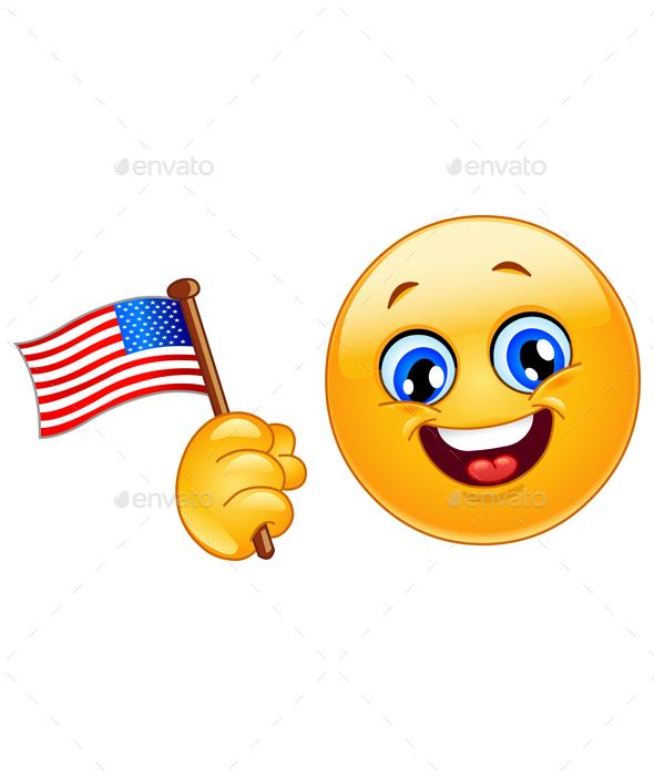 Patriot Emoticon