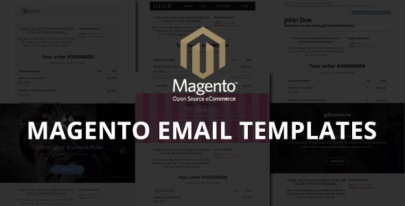 Szablony e-mail Magento