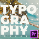Creative Short Typo Opener for Premiere Pro - VideoHive Item for Sale