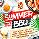 Summer Cookout Party Poster vol.2 - GraphicRiver Item for Sale