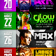 Festival Schedule Flyer - GraphicRiver Item for Sale