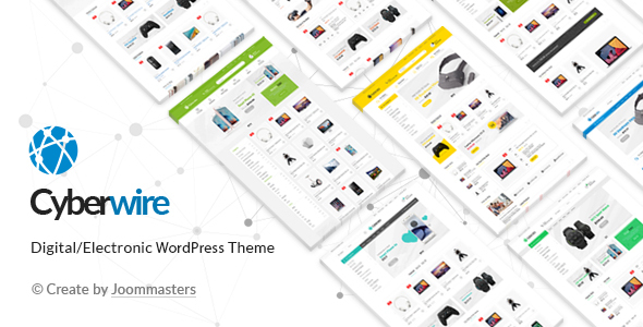 CyberWire - WooCommerce AJAX WordPress Theme
