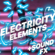 Electricity Elements | Motion Graphics Pack - VideoHive Item for Sale