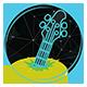 Descending Modern Baroque Logo