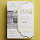 Hajj Flyer 04 - GraphicRiver Item for Sale