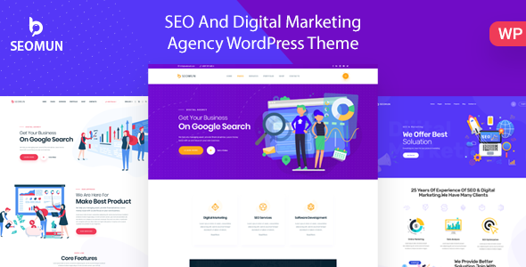 Seomun - Digital Agency & Marketing WordPress