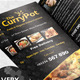 Takeaway Food Menu Trifold Brochure Template - GraphicRiver Item for Sale