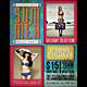 Summer Music Party Flyer / Poster - GraphicRiver Item for Sale