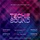 Techie Sound CD Album Artwork - GraphicRiver Item for Sale