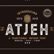 Atjeh – A Traditional Vintage Font - GraphicRiver Item for Sale