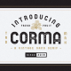 The Corma – 4 Font Files - GraphicRiver Item for Sale