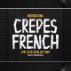 Crepes – The Cute Display Font - GraphicRiver Item for Sale