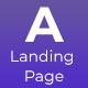 Appsrow App Landing HTML Template - ThemeForest Item for Sale
