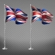 New and Shabby Great Britain Flag Vector - GraphicRiver Item for Sale