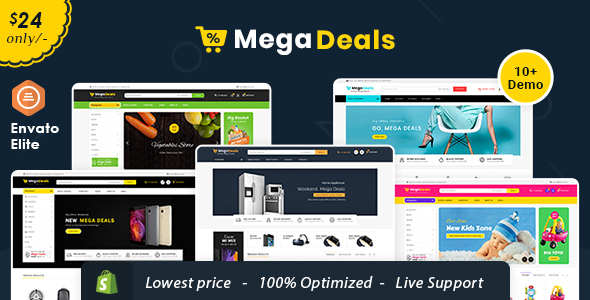 Mega Deals - Shopify Multi-Purpose Responsive Theme