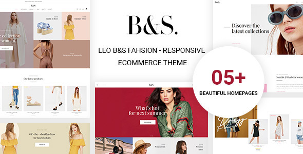 Leo B&S Fashion - Fashion Multi-Purpose Prestashop Theme