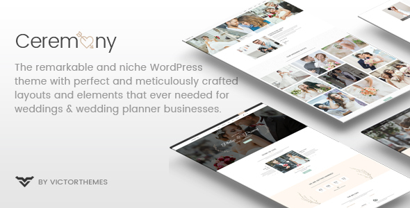 Ceremony - Wedding Planner WordPress Theme