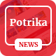 Potrika - Blog, News & Magazine HTML5 Template - ThemeForest Item for Sale