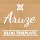Aruze - Personal Joomla Template - ThemeForest Item for Sale