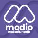 Medio - Medical Organization WordPress Theme - ThemeForest Item for Sale