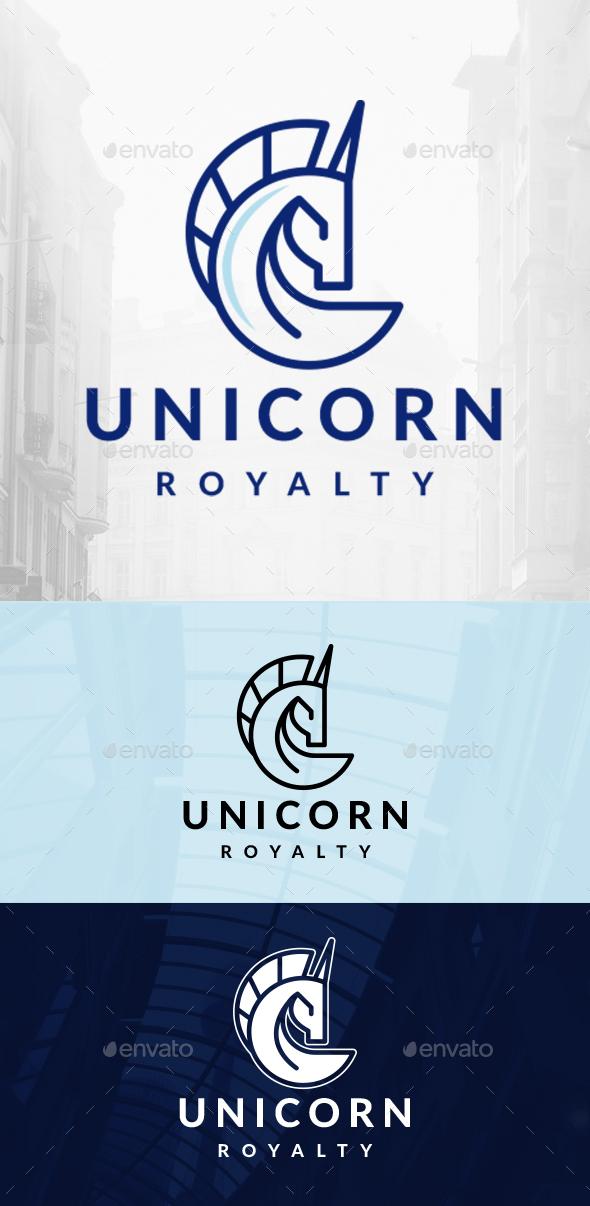 Elegant Unicorn Logo