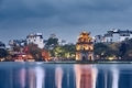 Old quarter of Hanoi at dusk - PhotoDune Item for Sale