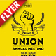 Trade Union Business Flyer - GraphicRiver Item for Sale