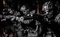 Police SWAT team suppresses criminals with gunfire - PhotoDune Item for Sale