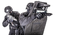 SWAT team behind ballistic shield studio shoot - PhotoDune Item for Sale