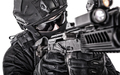 Police special forces fighter closeup studio shoot - PhotoDune Item for Sale