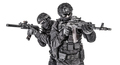 Police elite squad fighters protecting each other - PhotoDune Item for Sale