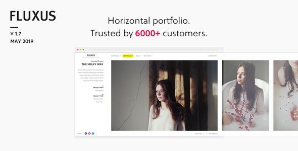 Fluxus - Portfolio Theme for Photographers