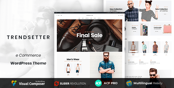 Trendsetter - Multi-Purpose E-commerce WordPress Theme
