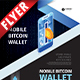 Bitcoin Wallet Business Flyer - GraphicRiver Item for Sale