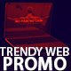 Trendy Website Promo - VideoHive Item for Sale