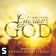 Glorious God CD Album Artwork - GraphicRiver Item for Sale